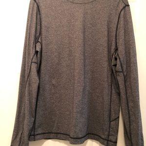 Lululemon long sleeve pullover gray size XL